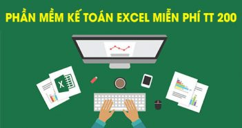 Phần mềm kế toán excel miễn phí thông tư 200 và thông tư 133