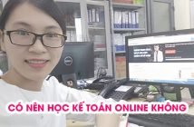 Có nên học kế toán online không