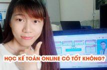 Học kế toán online có tốt không?