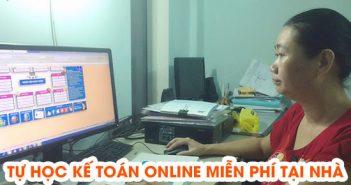 Tự học kế toán online miễn phí tại nhà