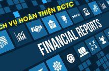 Dịch vụ hoàn thiện BCTC