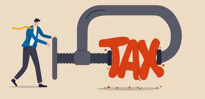 % thuế thu nhập doanh nghiệp