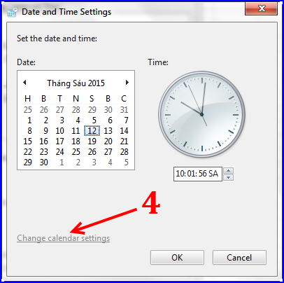 Cách định dạng ngày tháng cho máy tính