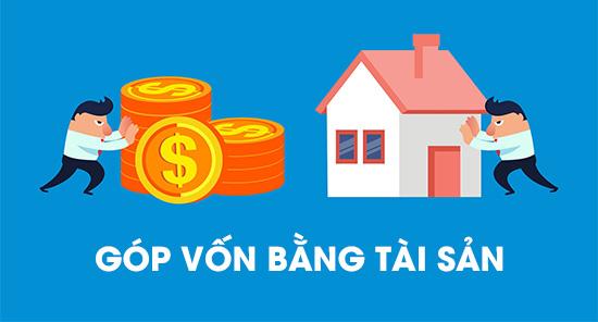 Góp vốn bằng tài sản