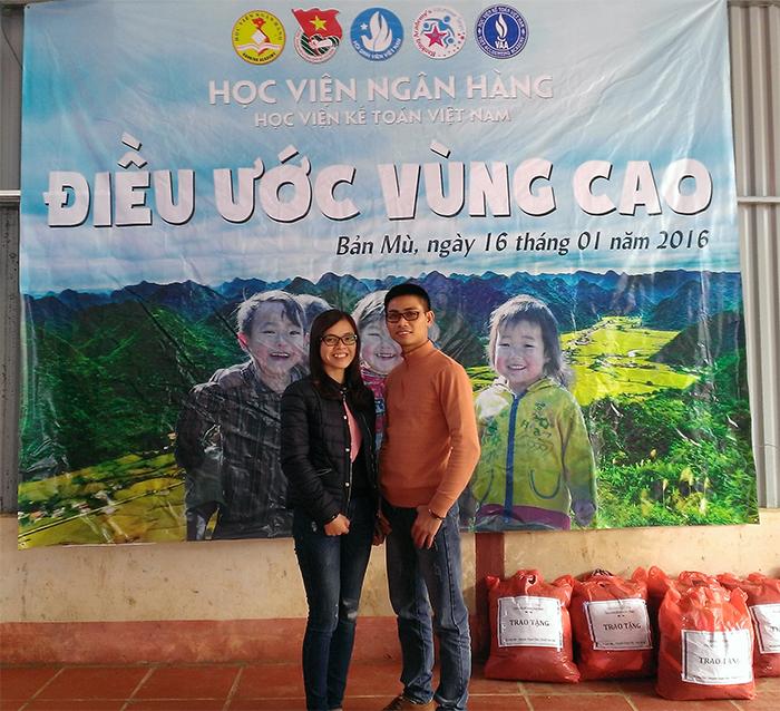 Hành trình từ thiện điều ước vùng cao