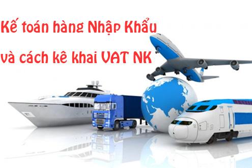 Kế toán hàng nhập khẩu
