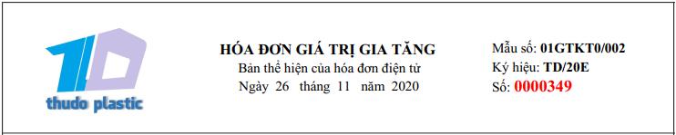 Báo cáo tình hình hóa đơn