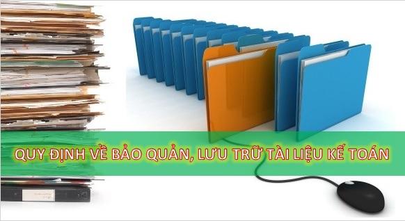 Thời hạn lưu trữ tài liệu kế toán mới nhất theo luật kế toán