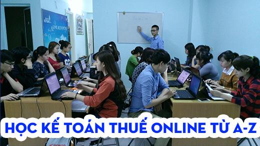Học kế toán thuế online từ A – Z