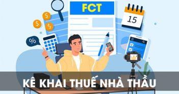 Kê khai thuế nhà thầu nước ngoài