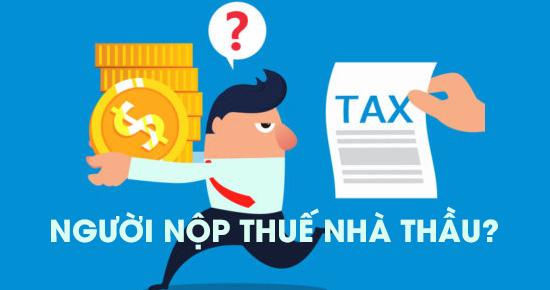Người nộp thuế nhà thầu