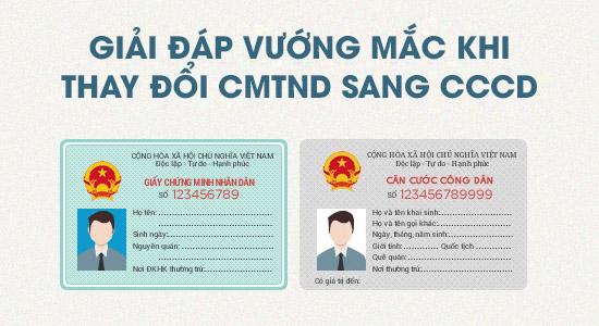 Thay chứng minh thư bằng căn cước công dân thì quyết toán thuế thế nào