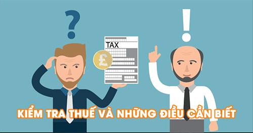 Kiểm tra thuế tại doanh nghiệp