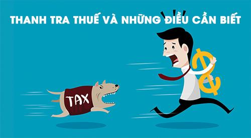 Thủ tục thanh tra thuế